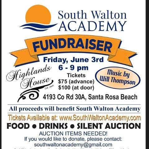 South Walton Academy Fundraiser